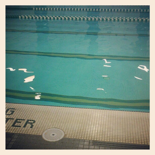 Photo taken at Aquatic and Fitness Center - George Mason University by Philip W. on 2/1/2013