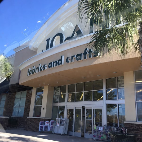Jo Ann Fabric And Craft Fabric Shop In Winter Garden Village At Fowler Groves