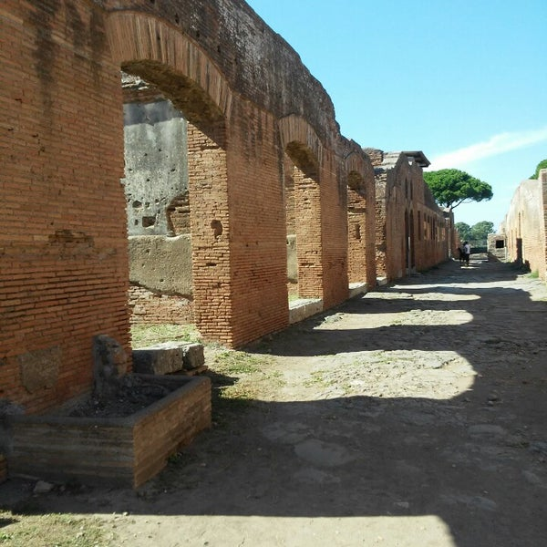 Photo taken at Ostia by Karen H. on 9/12/2015