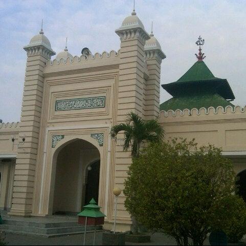 Photo taken at Masjid Jami' Kauman Pekalongan by &iet S. on 10/26/2012