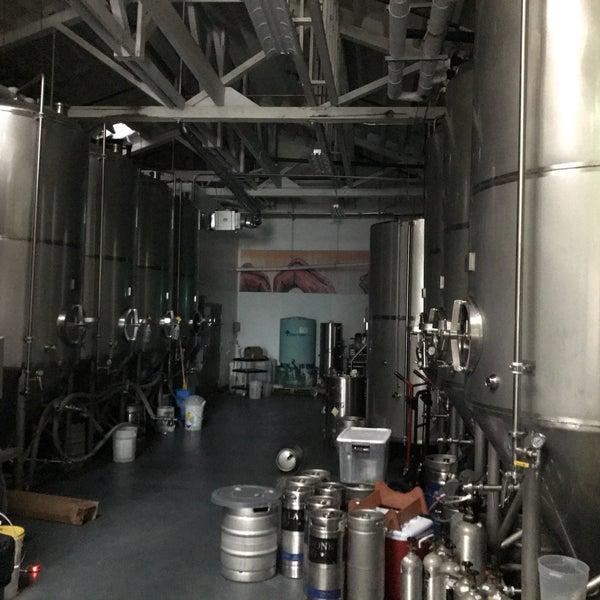 Photo taken at Seven Stills Brewery & Distillery by Michael F. on 1/22/2017