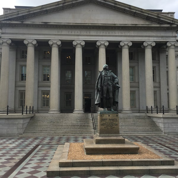 Photo taken at US Department of the Treasury by Navin R. on 9/19/2017