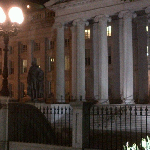 Photo taken at US Department of the Treasury by Marc R. on 9/20/2012