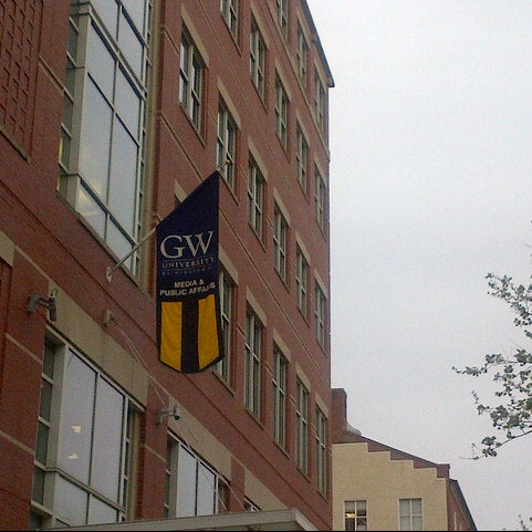 Photo taken at The George Washington University by Marc R. on 4/17/2013