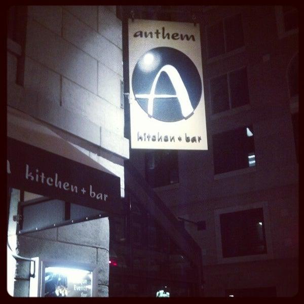 Anthem Kitchen And Bar: Gastropub In Downtown Boston