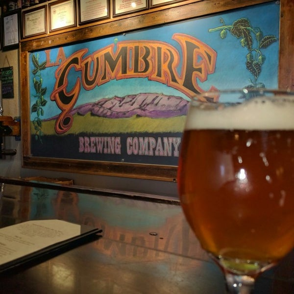 Photo taken at La Cumbre Brewing Company by Shannon on 1/2/2017