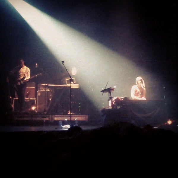 Photo taken at Palais Theatre by Vicky E. on 2/5/2013