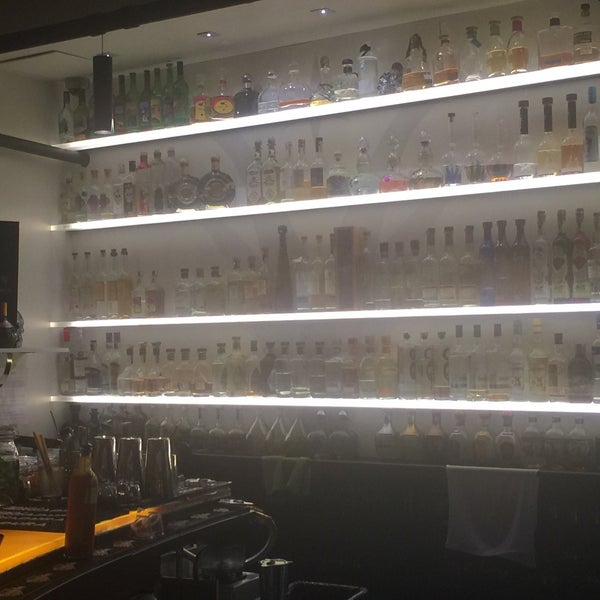 Largest tequila selection in Pennsylvania.