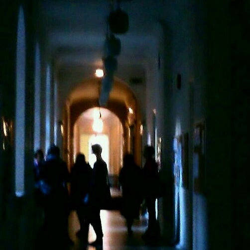 Photo taken at University of Latvia by Engelitis P. on 10/19/2012