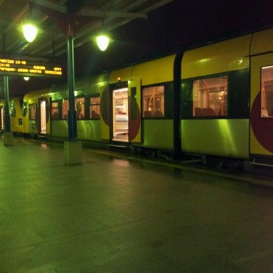 Photo taken at Estação Ferroviária de Porto-Campanhã by Andre D. on 11/7/2012