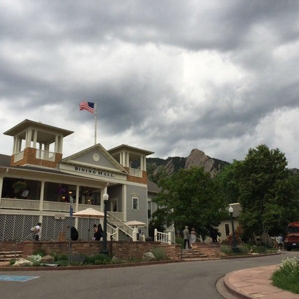 Photo taken at Colorado Chautauqua National Historic Landmark by ian on 6/13/2015