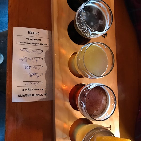 Photo taken at La Conner Brewing Company by eric b. on 4/2/2017