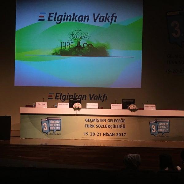 4/19/2017 tarihinde Botan E.ziyaretçi tarafından İstanbul Üniversitesi Kongre Kültür Merkezi'de çekilen fotoğraf