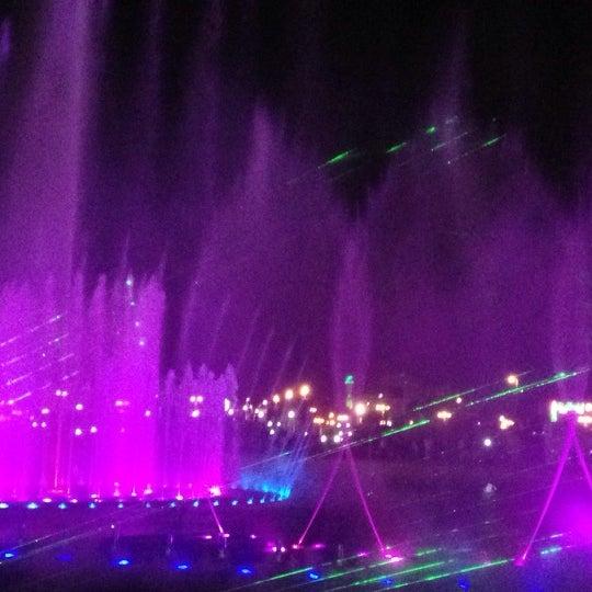 Photo taken at King Abdullah Park by Ashjan on 10/12/2013