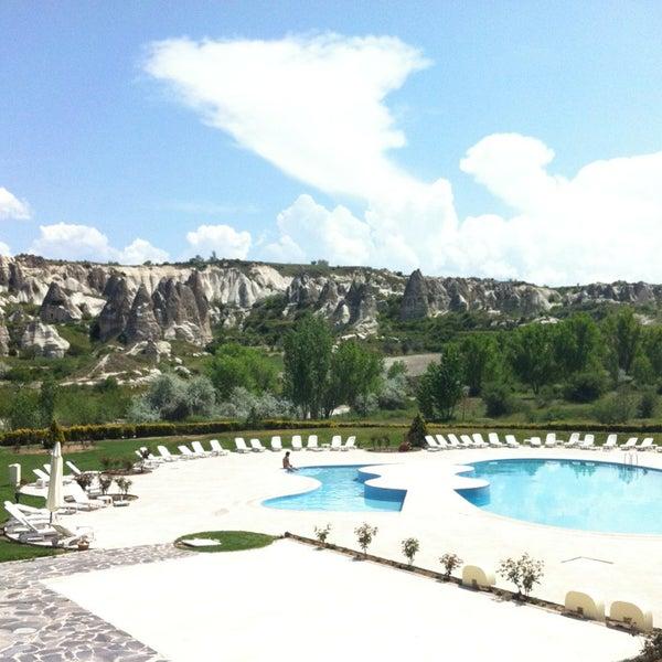 5/5/2013 tarihinde Huma E.ziyaretçi tarafından Tourist Hotels & Resorts Cappadocia'de çekilen fotoğraf
