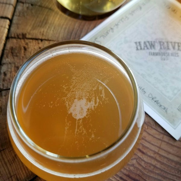 Photo taken at Haw River Farmhouse Ales by K D. on 12/21/2016