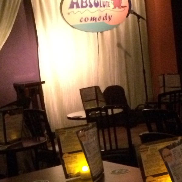 Photo taken at Absolute Comedy by Bev on 8/10/2014