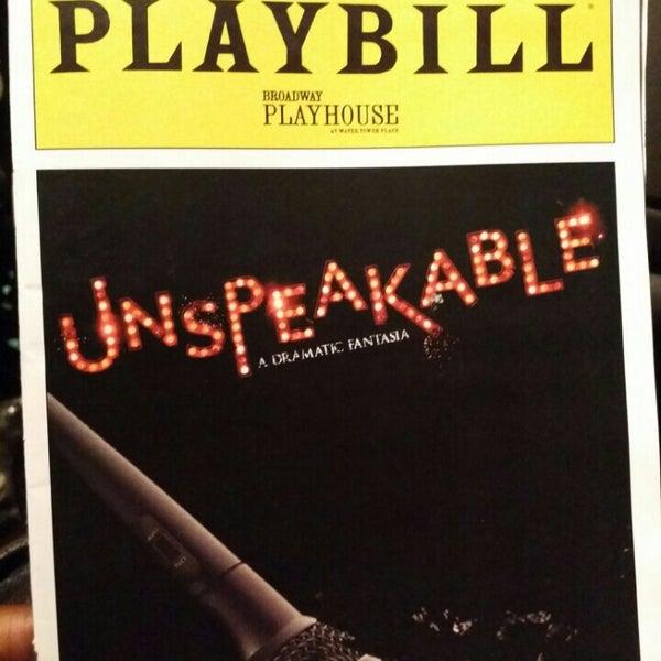 Снимок сделан в Broadway Playhouse пользователем Angela G. 10/22/2015