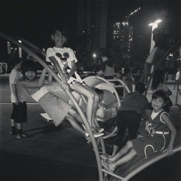 Photo taken at Bonifacio High Playground by Mark W. on 2/23/2013
