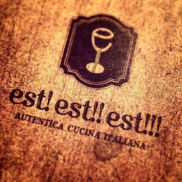 Foto tirada no(a) Est! Est!! Est!!! por Dani A. em 7/17/2013