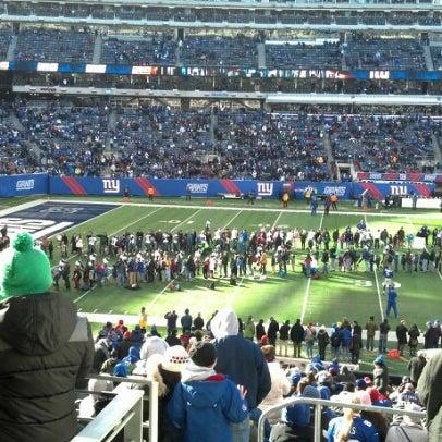 Photo taken at MetLife Stadium by Brian S. on 12/30/2012