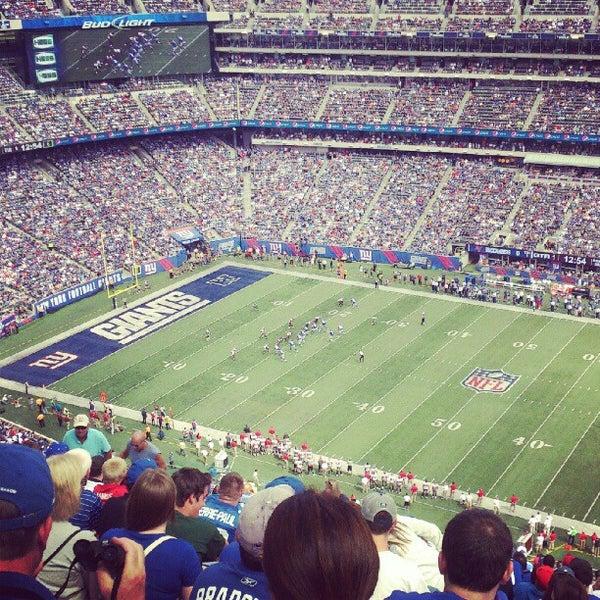 Photo taken at MetLife Stadium by Anushka on 9/16/2012