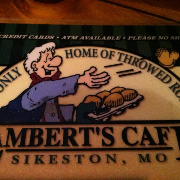 Photo taken at Lambert's Cafe by Tracie R. on 1/4/2013