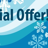 """WInter Special for new students! Use code """"WinterDeal"""" and save $20 on registration! Offer expires 2/3/2014."""