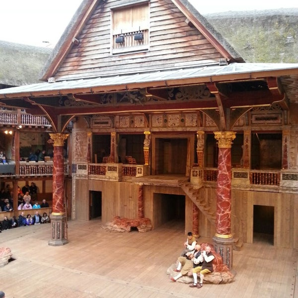 Photo taken at Shakespeare's Globe Theatre by Madalin F. on 5/9/2013