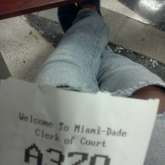 Photo taken at North Dade Justice Center by Lady L. on 11/9/2012