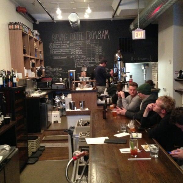 Photo taken at 1215 Wine Bar & Coffee Lab by Chris W. on 1/6/2013