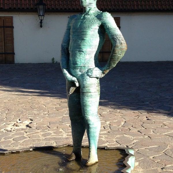 6/16/2013 tarihinde Eric D.ziyaretçi tarafından Franz Kafka Museum'de çekilen fotoğraf