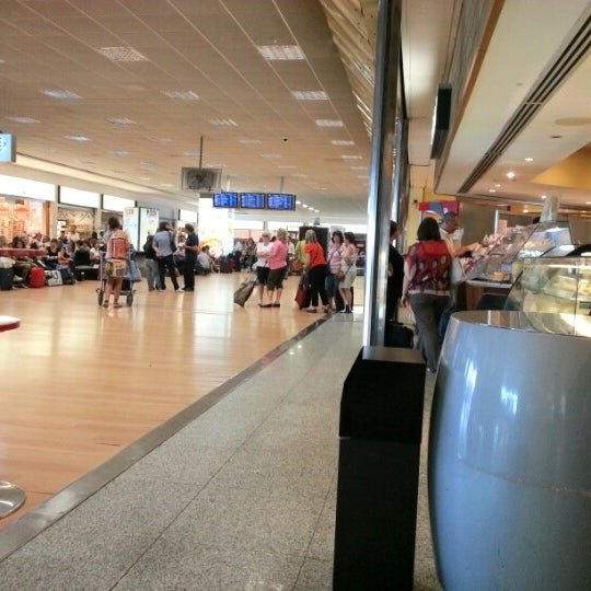 Photo taken at Palermo Airport (PMO) by Gaetano B. on 9/24/2012