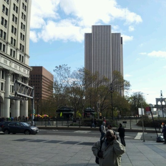Photo taken at NYC Municipal Building by EKO H. on 11/5/2012