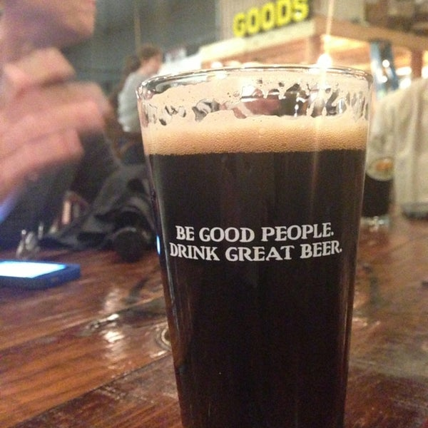Photo taken at Good People Brewing Company by Kyle S. on 4/4/2013