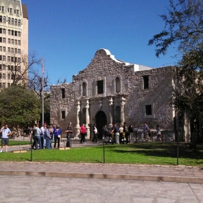 Photo taken at The Alamo by Walter S. on 2/1/2013