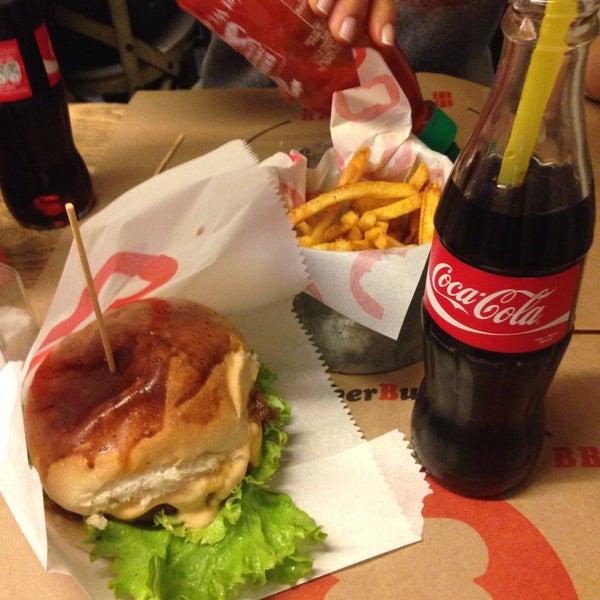 Photo taken at Biber Burger by CEREN on 10/15/2016