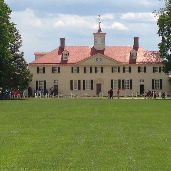 Photo taken at George Washington's Mount Vernon by Cliff L. on 5/13/2013
