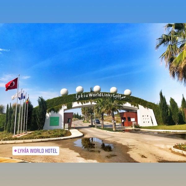 4/28/2018 tarihinde Erdoğan C.ziyaretçi tarafından LykiaWorld & LinksGolf Antalya'de çekilen fotoğraf