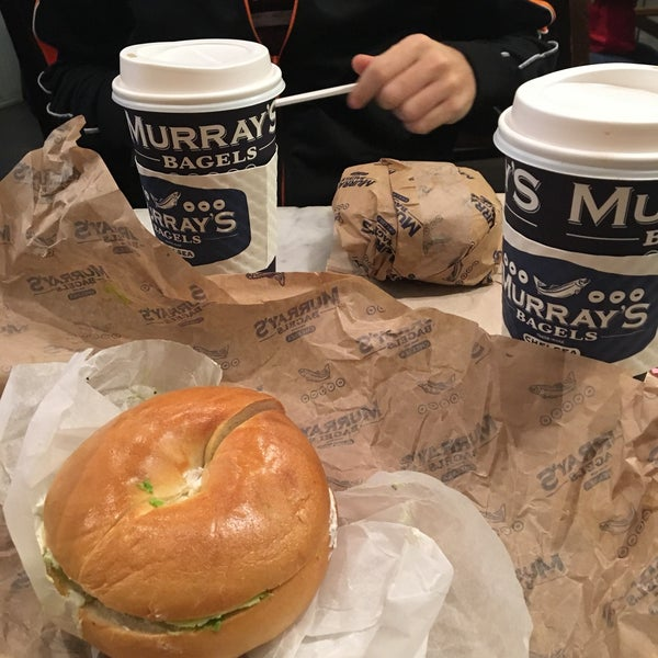 Photo taken at Murray's Bagels by Angelica L. on 9/24/2016