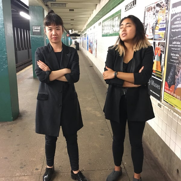 Photo taken at MTA Subway - Carroll St (F/G) by Boot F. on 5/17/2017