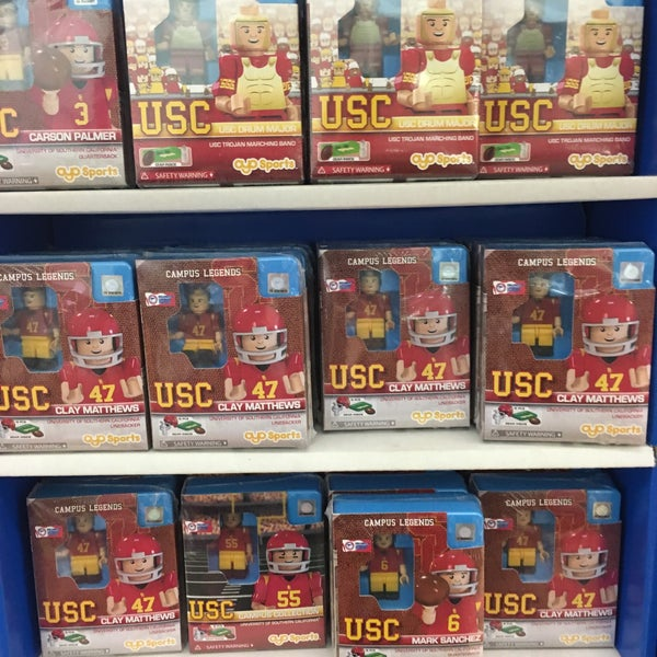 Photo taken at USC Bookstore (BKS) by Allison M. on 5/14/2016