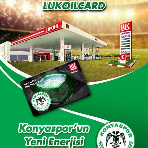 Artık KonyasporLukoilCard ile yakıt alan büyük Konyaspor taraftarı anında %2 indirim kazanıyor! Aramıza hoş geldin Konyaspor! #LukoilTürkiye