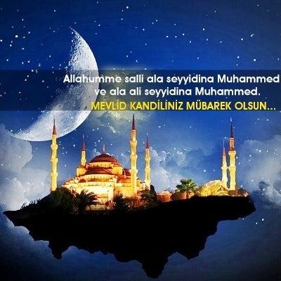 """MEVLİD KANDİLİNİZ"" Mübarek Olsun..."