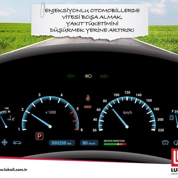 Yakıt tüketiminde nasıl tasarruf sağlayabilirim diyorsanız bu bilgi tam size göre! http://lukoil.com.tr/ #LukoilTürkiye #LUKOILInspireLife