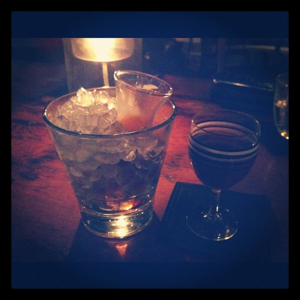 Photo taken at Hix by Steph Y. on 9/30/2012