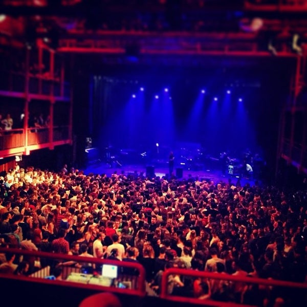Photo taken at AB Ancienne Belgique by Robin T. on 5/1/2013