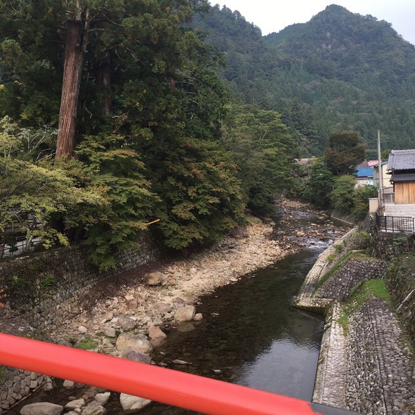 Photo taken at 室生寺 by Maria S. on 10/10/2015