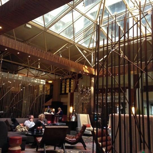 Photo taken at Renaissance Washington, DC Downtown Hotel by Nena P. on 10/21/2012