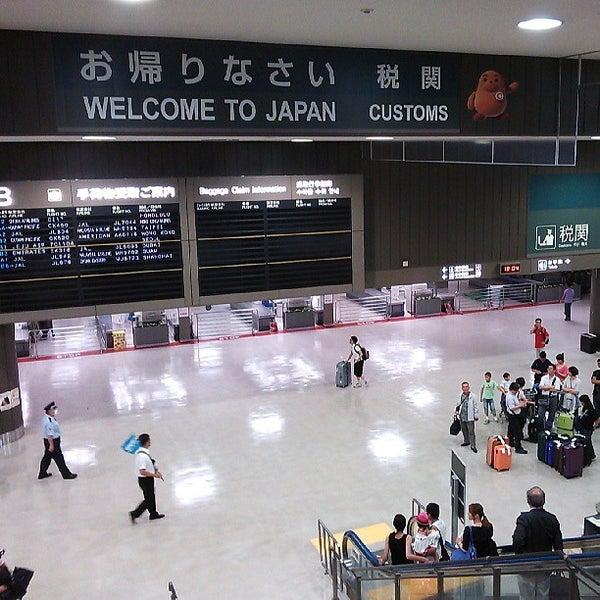 Photo taken at Narita International Airport (NRT) by Jun Y. on 7/6/2013